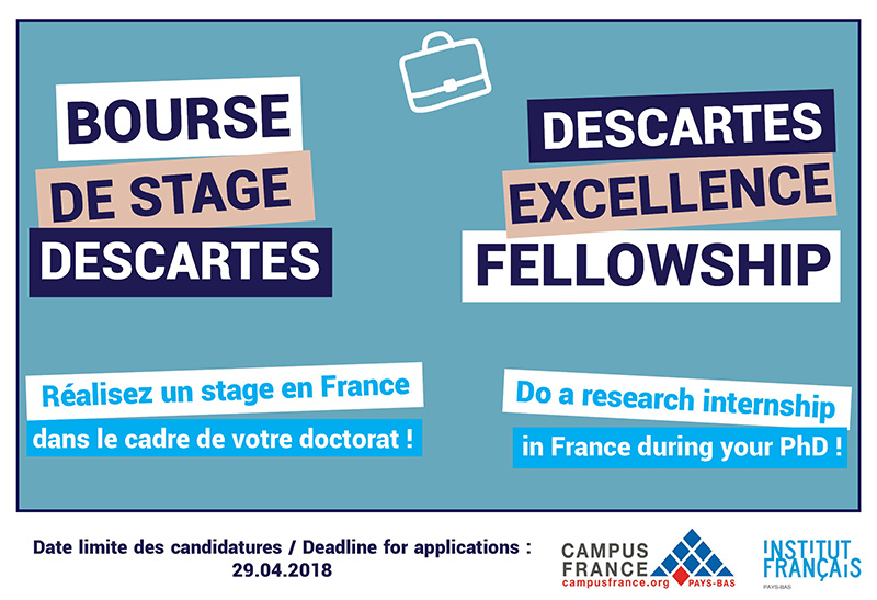 Appel à Candidatures Bourses De Stage Descartes Stages