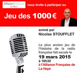 jeu mille euros