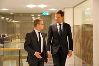 Laurent Pic et Mark Rutte