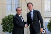 François Hollande et Mark Rutte