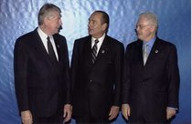 Wim Kok, Jacques Chirac et Lionel Jospin