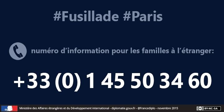 Attentats de paris 13 novembre 2015 frankrijk in nederland la france aux pays bas - Numero de telephone printemps haussmann ...